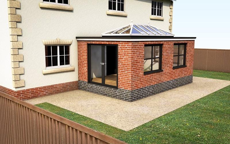 Leka xi modular conservatory orangery