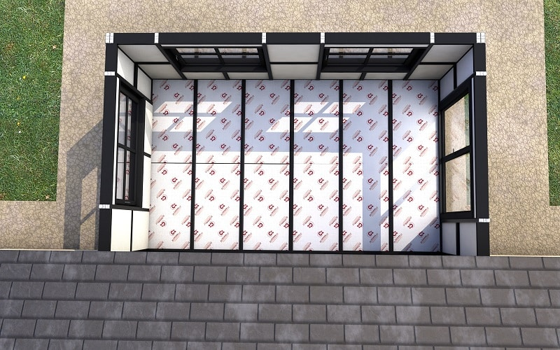 leka xi internal isolation conservatory