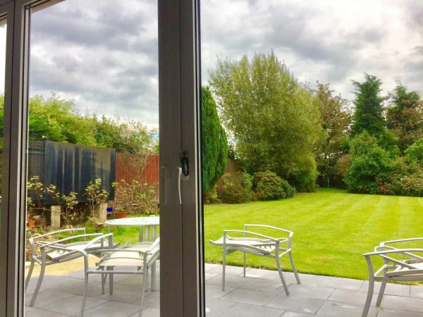 outside view bifold doors