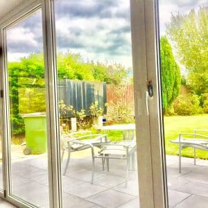 bifold doors white